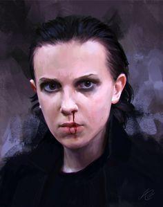 Eleven , Evelyn Mildt on ArtStation at https://www.artstation.com/artwork/lvLZ5