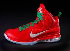 buy popular cc2df cb49b Nike Lebron 9 Christmas Edition