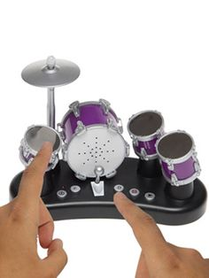 Finger Drums...cannot wait to hear Wipeout on this mini set! $19.99