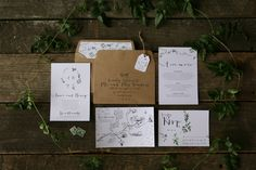 Fox and the Hare - invitation design | Designer wedding invitations and wedding stationery in New Zealand