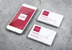 mobile and business card design by patastock on