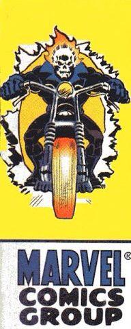 Marvel corner box art - Ghost Rider ( Flashback issue)