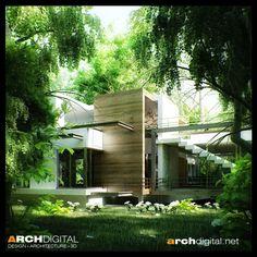 amazing homes   Amazing Renderings of Beautiful Houses