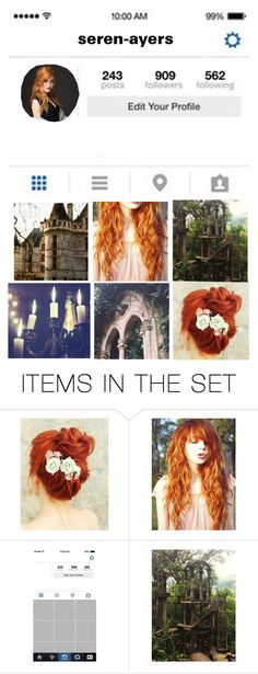 """""""Seren Ayers Instagram {Draconian (Original Series)}"""" by chibi-space-gal ❤ liked on Polyvore featuring art"""