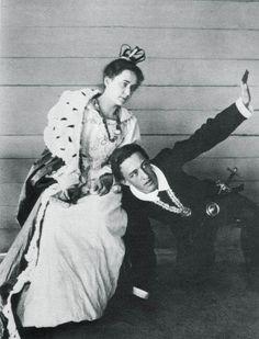 Александр Блок в роли Гамлета, 18 лет. Боблово, 1898