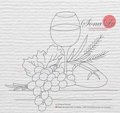 páscoa Hand Embroidery Stitches, Embroidery Designs, Painting Templates, Altar Cloth, Church Banners, Fruit Pattern, Applique Patterns, Colouring Pages, Diy Art