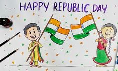 11 Best Republic Day Drawings Images In 2019 Republic Day
