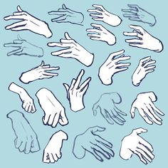 jacqueline's sketchblog — 1hr of warm up hand studies! trying to be more...