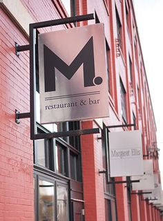 M. Restaurant and Bar --Southern-inspired, contemporary cuisine with Nashville roots.