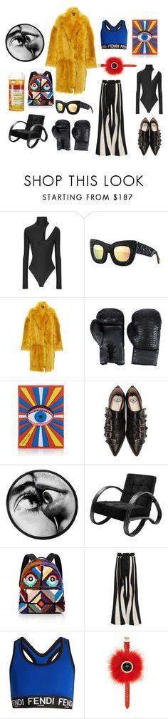 """""""Eye in the Sky"""" by nicolebokser on Polyvore featuring Alix, Anna-Karin Karlsson, Rochas, Elisabeth Weinstock, Olympia Le-Tan, Gucci, Seletti, Eichholtz, Fendi and Ann Demeulemeester"""