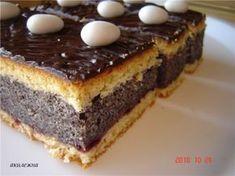Кулинарные рецепты от Лики: Пирожное с маковой начинкой
