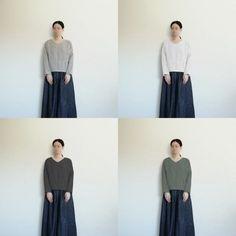 【型紙・作り方】シンプルな長袖ブラウス - ハンドメイド洋裁ブログ yanのてづくり手帖-簡単大人服・子供服・小物の無料型紙と作り方- Waist Skirt, High Waisted Skirt, Sewing, Skirts, Fashion, Dressmaking, Handarbeit, Moda, Couture