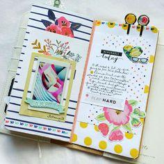 TRAVELER'S NOTEBOOK - Memory Keeping in a Traveler's Notebook | Gossamer Blue » Blog | Bloglovin'
