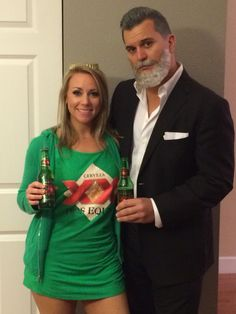 The most interesting man in the world. Fun couples costume for Halloween.  sc 1 st  Pinterest & Dos Equis + The Most Interesting Man In The World Halloween Costumes ...