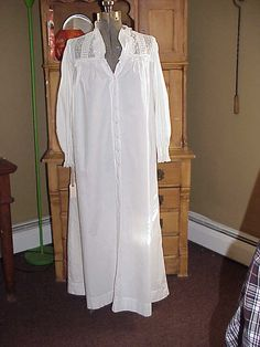 Vintage Victorian Reproduction Nightgown by NANDISNEEDFULTHINGS