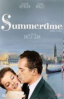 "The beautiful classic movie, ""Summertime"". Katharine Hepburn stars as an American spinster who takes a vacation to Venice and falls in love with handsome Rossano Brazzi - who is married. Katharine Hepburn, Summertime Movie, Darren Mcgavin, David Lean, Movie To Watch List, Romantic Movies, Classic Movies, Movie Stars, Falling In Love"