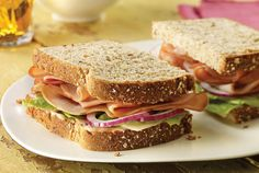 Turkey Heartland | #deli #sandwiches #turkey | https://www.jennieo.com/recipes/62-Turkey-Heartland