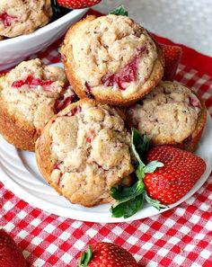 Saftige Erdbeer-Muffins