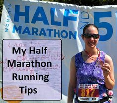 Half Marathon ~Running Tips - I pinned this- mostly because I hate her. She did not train for her first half and ran it in 2:30. I have trained my butt off and I hoped to finish in less than 3. Not nice of me but oh well....