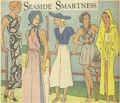 'Seaside smartness' from 1935