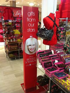Macy's, products sponsored/designed  by celebrities