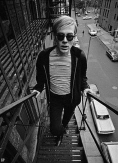 Andy Warhol beatnic/mod style (please follow minkshmink on pinterest)More Pins Like This At FOSTER GINGER @ Pinterest