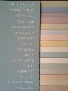 Lovely coloured wallpapers from Borås tapeter Pigment