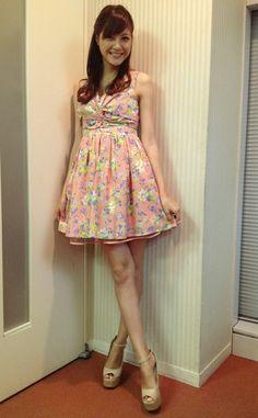 Arisa Sato Pin Up, Girl Fashion, Summer Dresses, Chic, Girls, Women's Work Fashion, Shabby Chic, Toddler Girls, Elegant