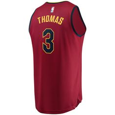 3ee341a4b01 Men s Cleveland Cavaliers Isaiah Thomas Fanatics Branded Maroon Fast Break  Replica Jersey - Icon Edition