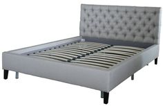 Maine upholstered bed double