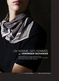 Les Échos Série Limitée by Véronique Nichanian  Styled by Sibylle de Saint Phalle