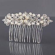 Women Alloy Hair Combs With Wedding/Party Headpie... – USD $ 6.99
