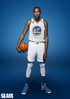 With Kevin Durant and Stephen Curry on the same roster, this Warriors team is one of the most loaded in the history of the NBA. Kevin Durant, Golden State Warriors, Nba Players, Basketball Players, Basketball Drills, Stephen Curry, I Love Basketball, Basketball Quotes, 2017 Nba Finals