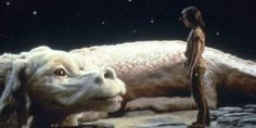 I hate the NeverEnding Story (1984). The dragon/dog guy freaked me out and I was so sad for the cute Indian. And that annoying princess was always crying for Bastian. UG. I hated rainy days at daycare because they would play this during recess.