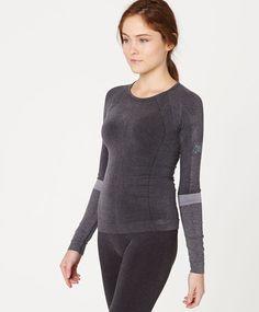 Μπλούζα χωρίς ραφές για Σκι - OYSHO