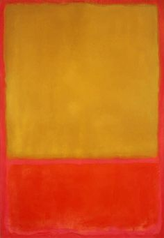 MARK ROTHKO / Ochre and Red on Red / 1954 / oil on canvas