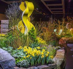 "98 отметок «Нравится», 6 комментариев — Northwest Flower & Garden Show (@nwfgs) в Instagram: «#tbt to the stunning #nwfgs Theme Garden that welcomed attendees to a ""Taste of Spring!"" Designed…»"