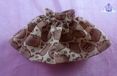 Cute Pusheen Doll Skirt
