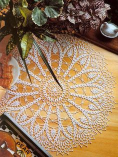 christmas crochet doily round lace tablecloth decoration large table topper placemat centerpiece home decor wedding unique birthday gift mom Crochet Stitches Patterns, Doily Patterns, Crochet Motif, Crochet Round, Crochet Home, Crochet Gifts, Lace Doilies, Crochet Doilies, Doilies For Sale