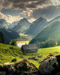 Appenzell - Switzerland Natural Scenery, Beautiful Scenery, Beautiful Landscapes, Beautiful World, Beautiful Pictures, Beautiful Places, Landscape Photography, Nature Photography, Amazing Photography