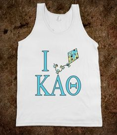 Theta Lilly Tank...more sororities available at skreened.com/sratire