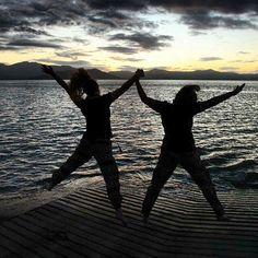 Happiness with my sister.  #Godscreation. #Godisgood. #YWAM. #YWAMTownsville. #Townsvilleshines. #Missionary. #YWAMtogether. #Yarrabah. #Mountains. #Outreach. #Wanderlust. #Travel. #Adventure. #Australia. #Pakistani. #Sunset. #Beach. #Lowtide. #Scenery. #Jumping. #Gypsy. #Boho. by rhoda.t http://bit.ly/dtskyiv #ywamkyiv #ywam #mission #missiontrip #outreach