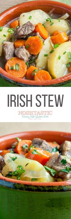 Green Smoothie with Spinach  Pear  and Ginger   Recipe   Paleo St     You don t need to wait until St Patrick s Day to enjoy this traditional  Gluten Free Irish Stew recipe  delicious at any time of the year