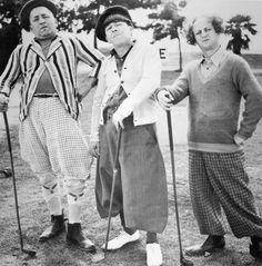 The Three Stooges: Curly Howard (1903-1952) Moe Howard(1897-1975) and Larry Fine(1902-1975). Shemp Howard(1895-1955)left the group early to start a solo acting career. Curly Howard, the younger of the Howard Brother's, immediately came in to take Shemp's place.  Shemp Howard eventually returned to the group reluctantly on May 6, 1946.