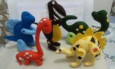 ..... Dinosaur Stuffed Animal, Toys, Animals, Dinosaurs, Felt, Animais, Animales, Animaux, Toy