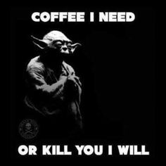 So true. #needcoffee #coffee #wballz03 #yoda #starwars