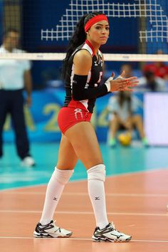 Brenda Castillo, Beautiful Volleyball Player from Dominican Republic - Tibba Beach Volleyball, Volleyball Pictures, Women Volleyball, Volleyball Clothes, Volleyball Setter, Cheer Pictures, Winifer Fernandez, Volleyball Training, Female Volleyball Players