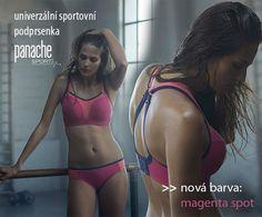 sportovní podrsenka Panache v novém! - barva magenta pro milovnice růžové.