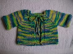 Ravelry: Chunky Alpaca Baby Jacket pattern by Michelle Lewis