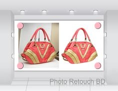 Hand Bag Background remove with clipping path